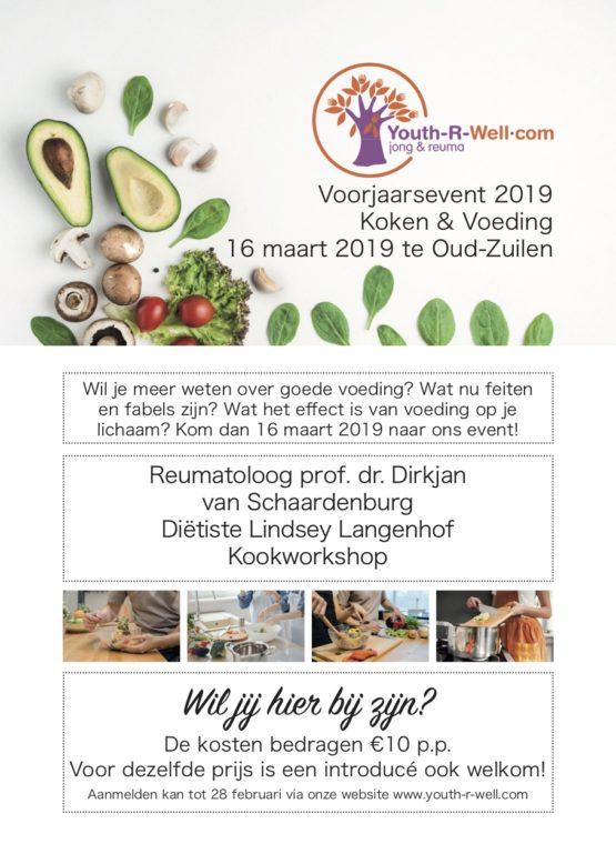 Voorjaarsevent 2019: Voeding en koken