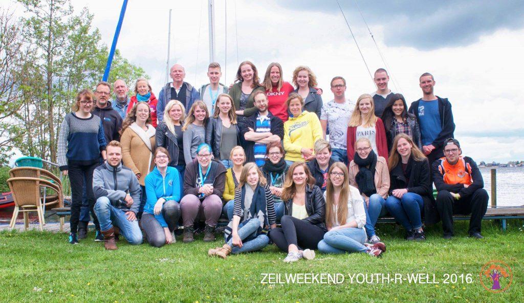 Zeilweekend 2016-groep